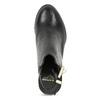 Kožená obuv na masivním podpatku royal-republiq, černá, 524-6020 - 17