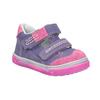 Dětské kožené boty na suché zipy bubblegummers, fialová, 126-9601 - 13