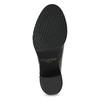 Kožená obuv na masivním podpatku royal-republiq, černá, 524-6020 - 18