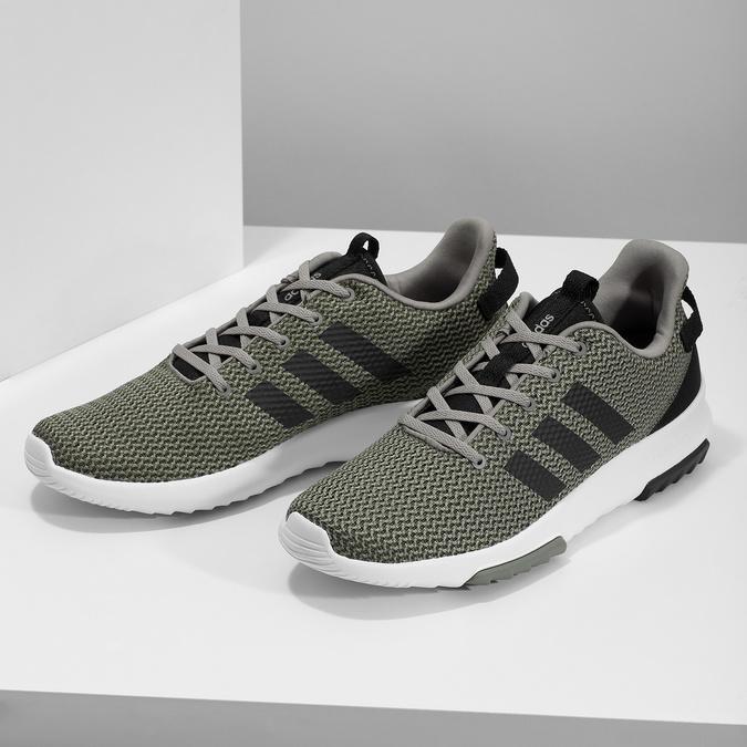 Pánské khaki tenisky adidas, khaki, 809-7201 - 16