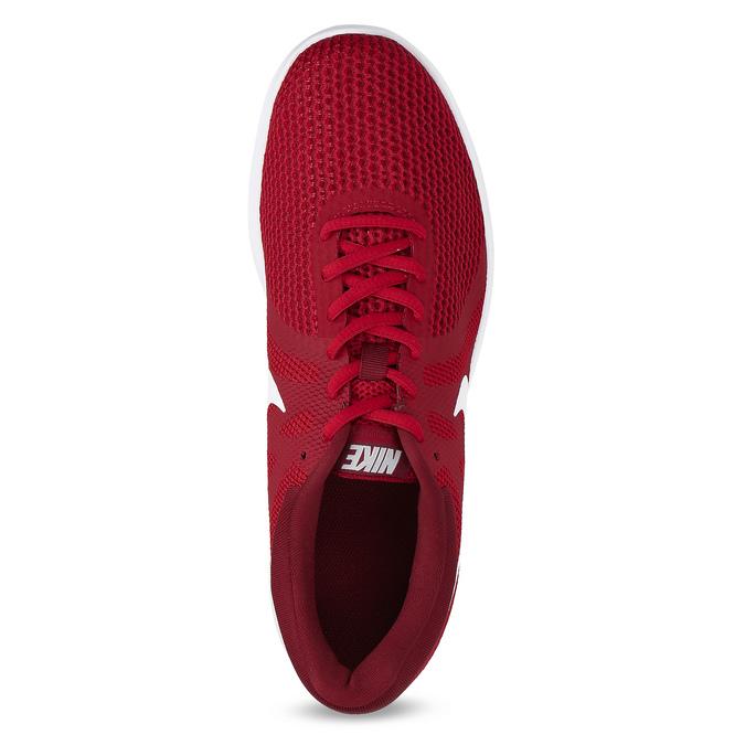 Červené pánské tenisky sportovního vzhledu nike, červená, 809-5651 - 17