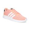 Dívčí tenisky v lososovém odstínu adidas, růžová, 409-5388 - 13