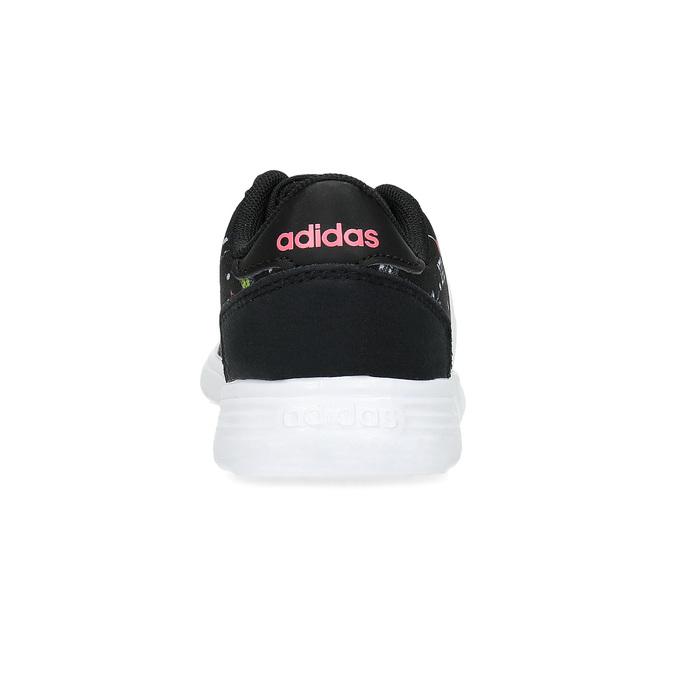Dětské tenisky s barevným potiskem adidas, černá, 109-6388 - 15