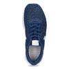 Dětské modré tenisky s bílou podešví nike, modrá, 409-9158 - 17