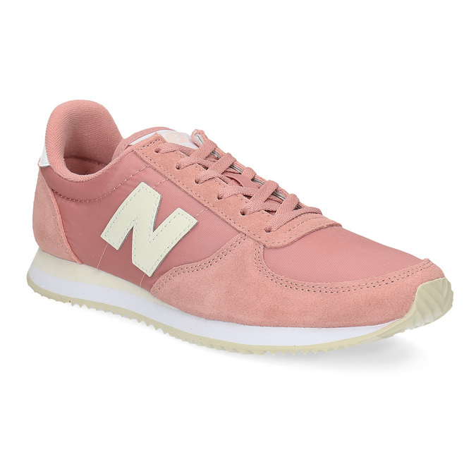 Růžové dámské tenisky new-balance, růžová, 509-5871 - 13