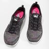 Tenisky s barevným pleteným vzorem skechers, černá, 509-6530 - 16