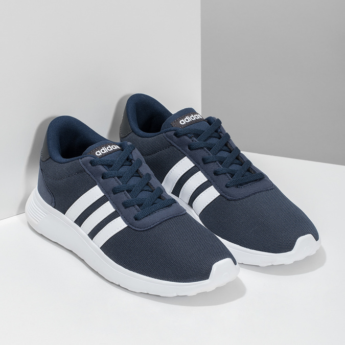 Modré chlapecké tenisky sportovního střihu adidas, modrá, 409-9388 - 26