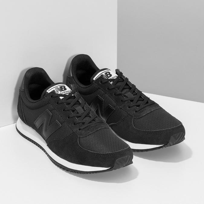 Černé dámské tenisky sportovního střihu new-balance, černá, 509-6871 - 26