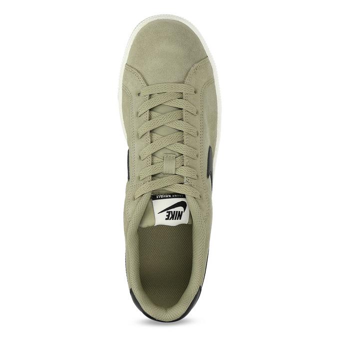 Pánské tenisky Nike z broušené kůže nike, khaki, 803-7699 - 17
