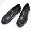 Kožené pánské mokasíny černé bata, černá, 814-6128 - 16