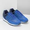 Modré kožené tenisky Adidas adidas, modrá, 803-9293 - 26