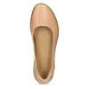Kožené béžové dámské baleríny el-naturalista, béžová, 526-8011 - 17