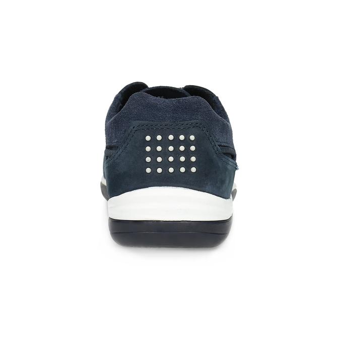 Kožené pánské tenisky perforované tbs-, modrá, 826-9051 - 15