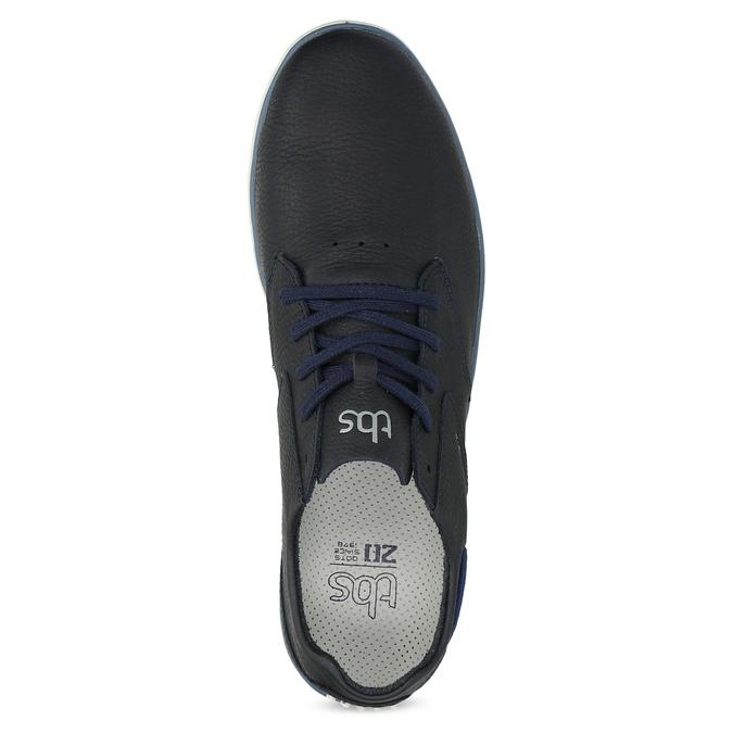 Pánské kožené tenisky modré tbs-, modrá, 826-9054 - 17