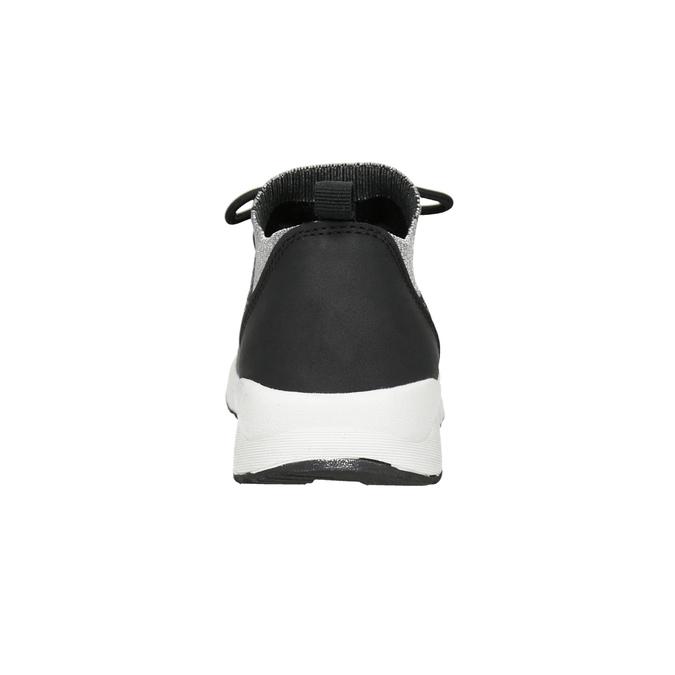 Dámské tenisky s úpletem bata-light, 549-6606 - 15