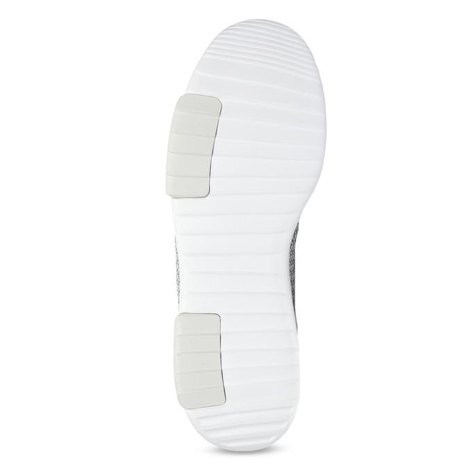 Pánské šedé tenisky adidas, šedá, 809-2601 - 18