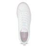 Dámské bílé tenisky s růžovou podešví adidas, bílá, 501-1533 - 17