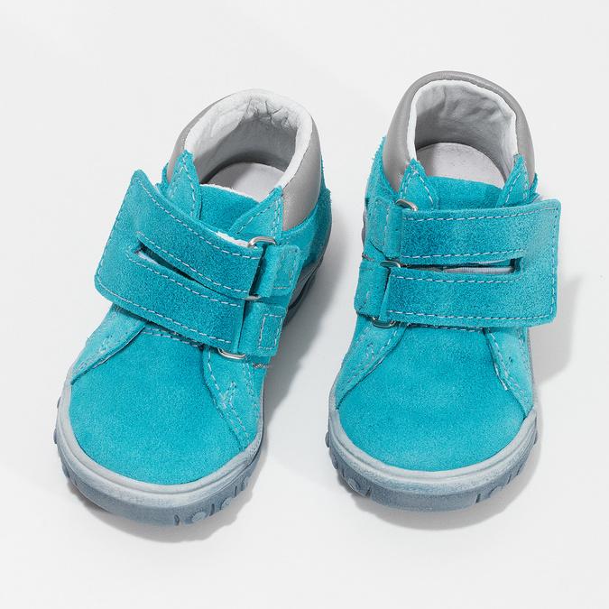 Dětské kotníčkové boty z kůže bubblegummers, 113-9608 - 16