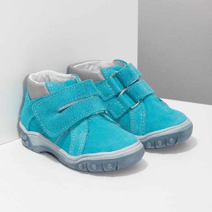 Dětské kotníčkové boty z kůže bubblegummers, 113-9608 - 26