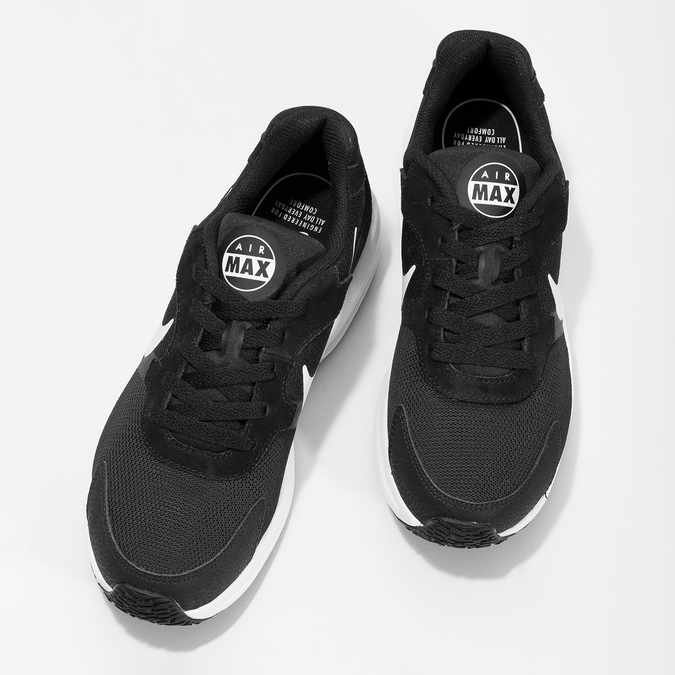 Air Max dámské tenisky černé nike, černá, 509-6868 - 16