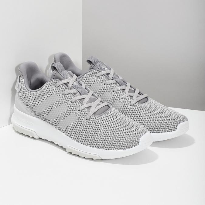 Pánské šedé tenisky adidas, šedá, 809-2601 - 26