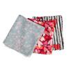 Šátky se srdíčky bata, vícebarevné, 909-0417 - 13