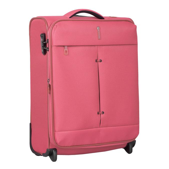 Růžový cestovní kufr roncato, růžová, 969-9696 - 13