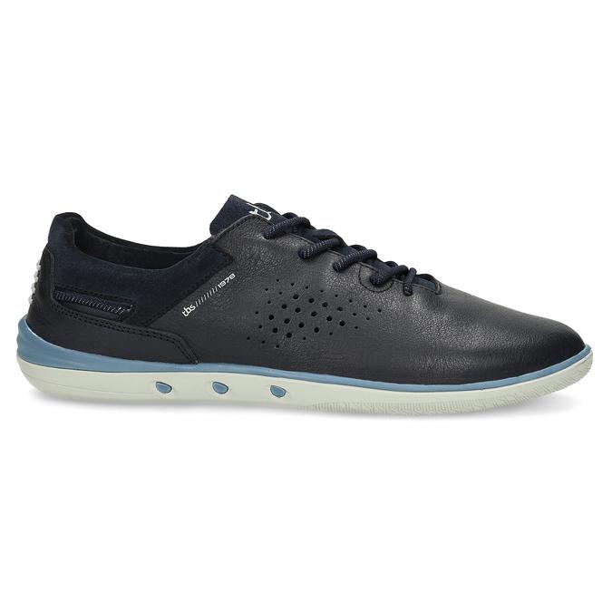 Pánské kožené tenisky modré tbs-, modrá, 826-3053 - 19