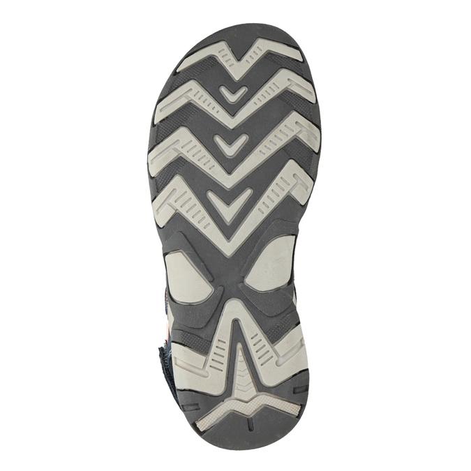 Chlapecké kožené sandály mini-b, 463-9608 - 19