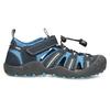 Dětské modré sandály mini-b, modrá, 461-9606 - 19