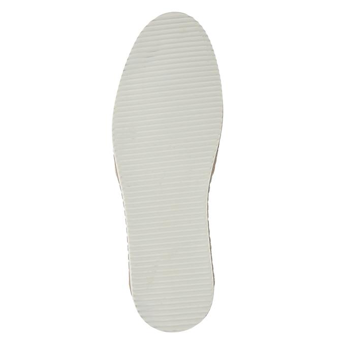Pánské Slip-on z broušené khaki kůže bata, zelená, 833-7602 - 17