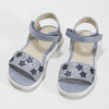 Dívčí sandály s hvězdičkami mini-b, modrá, 261-9211 - 16
