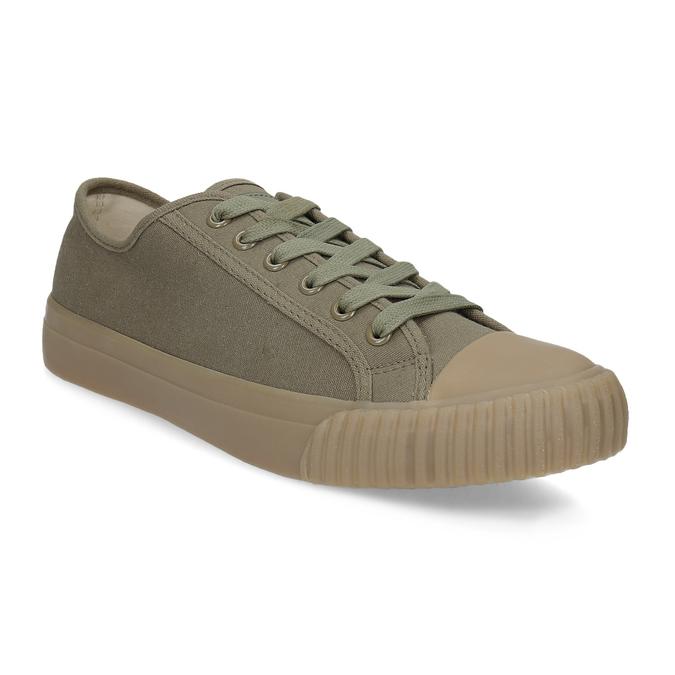 Pánské khaki tenisky bata-bullets, zelená, 889-7244 - 13