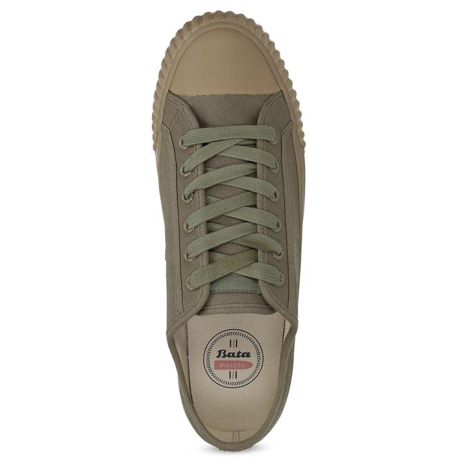 Pánské khaki tenisky bata-bullets, zelená, 889-7244 - 17