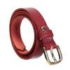 Červený kožený opasek dámský bata, červená, 954-5203 - 13