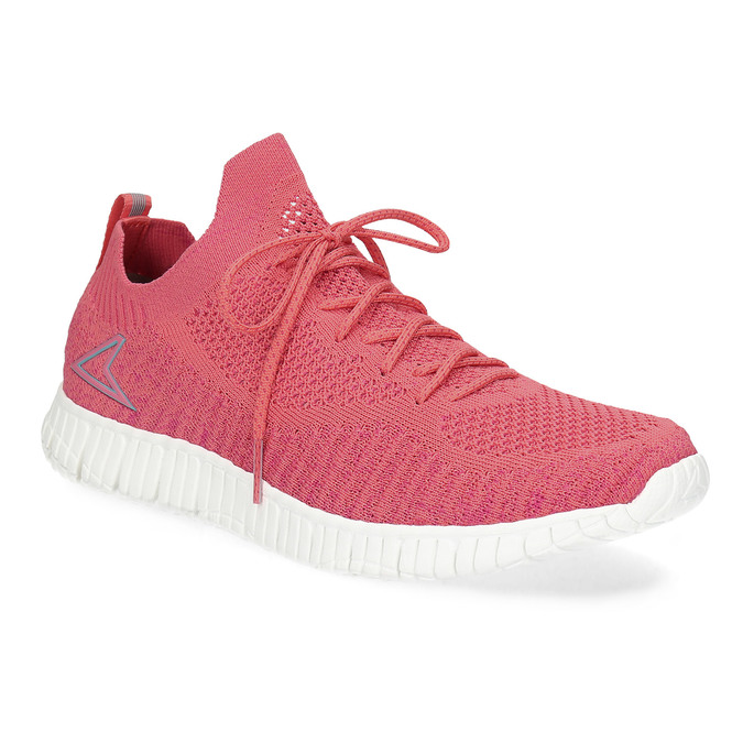 Power Dámské růžové úpletové tenisky - Sportovní styl  c90b90abb6