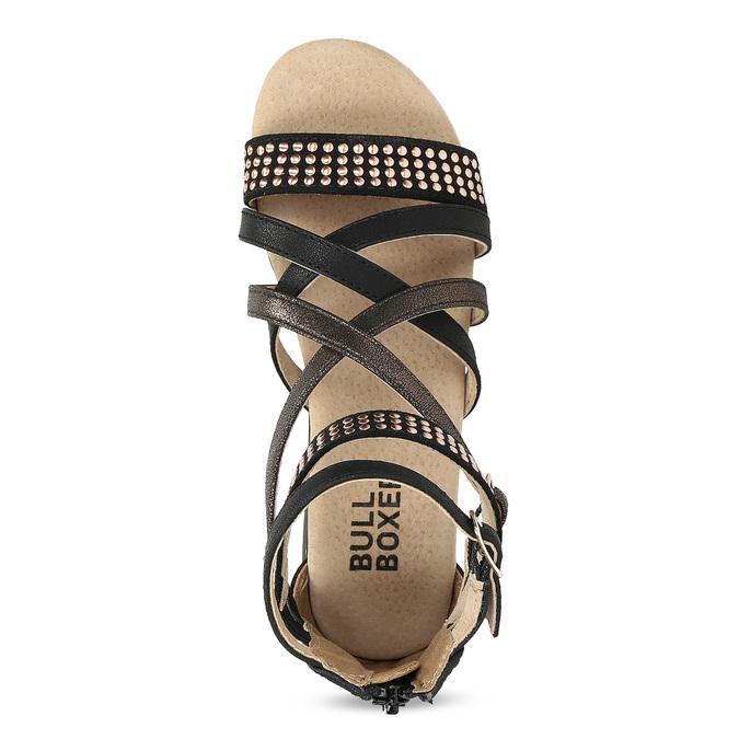 Dívčí páskové sandály bullboxer, černá, 361-6610 - 17