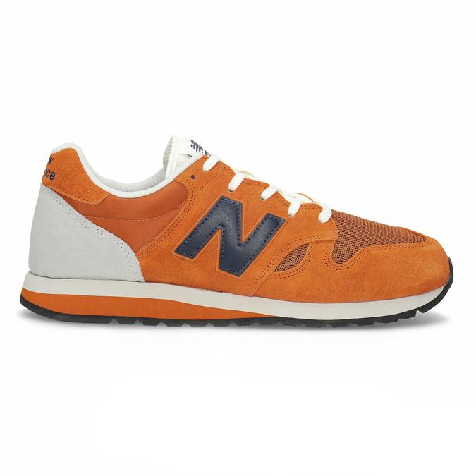 Oranžové pánské tenisky new-balance, oranžová, 803-0278 - 19