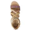 Páskové sandály v Etno stylu bullboxer, béžová, 361-8611 - 17