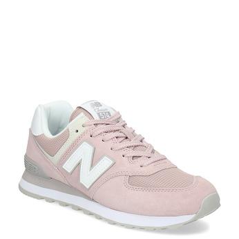 Růžové dámské tenisky new-balance, růžová, 503-5281 - 13