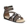 Dívčí páskové sandály bullboxer, černá, 361-6610 - 13