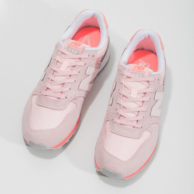 Dámské růžové tenisky new-balance, růžová, 503-5280 - 16