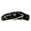 Kabelka s perforací a střapci bata, šedá, 961-2828 - 15