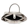 Dámská kabelka s perforací bata, bílá, 961-1265 - 15