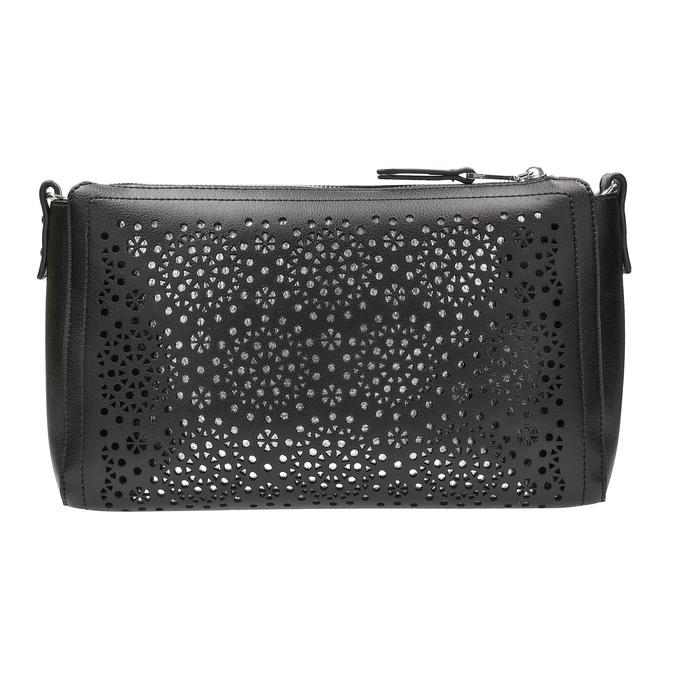 Černá Crossbody kabelka s perforací bata, černá, 961-6331 - 26