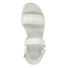 Bílé dívčí sandály se strukturovanou podešví mini-b, bílá, 361-1613 - 17