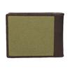 Pánská peněženka v kombinaci kůže a textilu bata, zelená, 949-7603 - 16