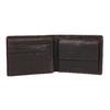 Pánská peněženka v kombinaci kůže a textilu bata, zelená, 949-7603 - 15