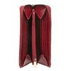 Červená dámská kožená peněženka bata, červená, 944-5602 - 15