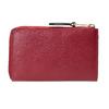 Červená dámská kožená peněženka bata, červená, 944-5602 - 26